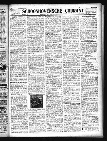 Schoonhovensche Courant 1943-09-21