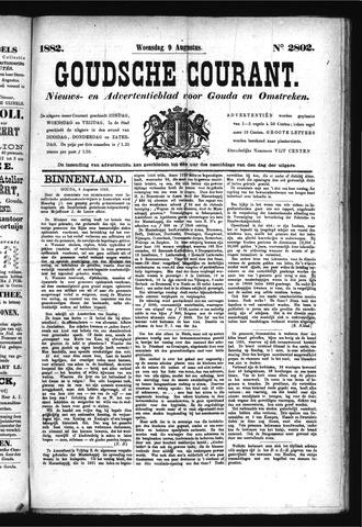 Goudsche Courant 1882-08-09