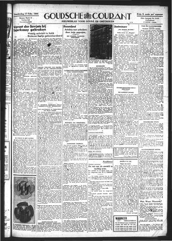 Goudsche Courant 1944-02-17