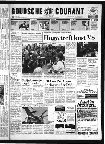 Goudsche Courant 1989-09-22