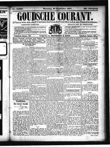 Goudsche Courant 1917-09-10