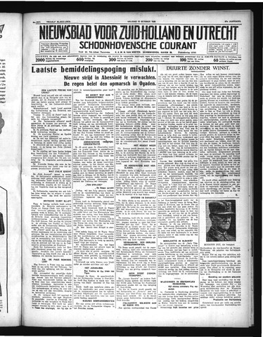 Schoonhovensche Courant 1935-10-18