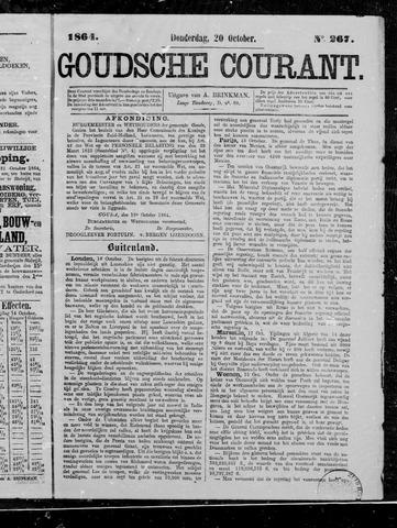 Goudsche Courant 1864-10-20
