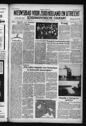Schoonhovensche Courant 1957-11-13