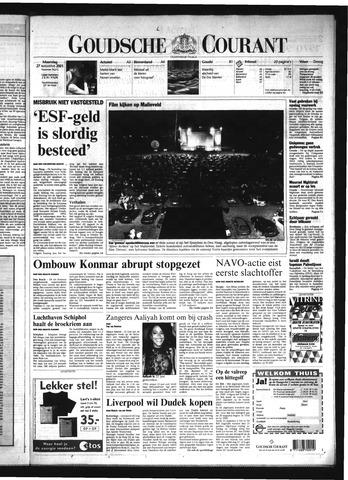 Goudsche Courant 2001-08-27