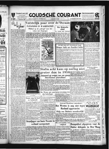Goudsche Courant 1952-04-02
