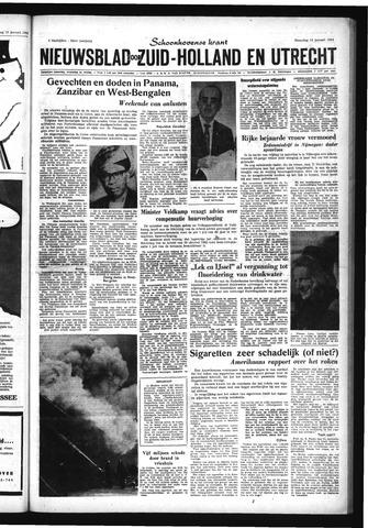 Schoonhovensche Courant 1964-01-13