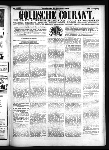 Goudsche Courant 1934-08-23