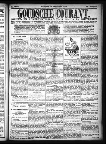 Goudsche Courant 1922-09-25