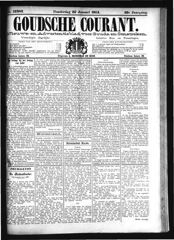 Goudsche Courant 1914-01-22