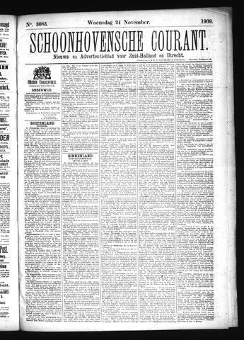 Schoonhovensche Courant 1909-11-24