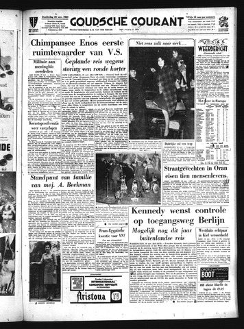 Goudsche Courant 1961-11-30