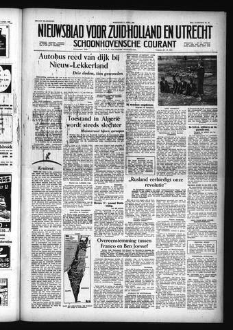 Schoonhovensche Courant 1956-04-11