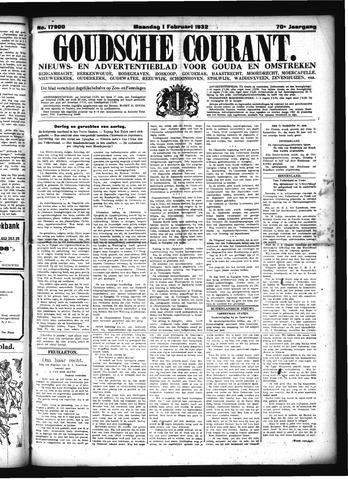 Goudsche Courant 1932-02-01
