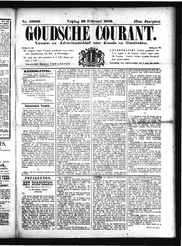 Goudsche Courant 1909-02-26