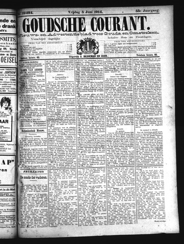 Goudsche Courant 1914-06-05