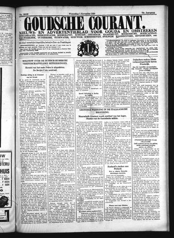 Goudsche Courant 1939-11-01