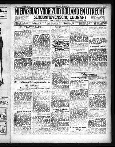 Schoonhovensche Courant 1936-01-20