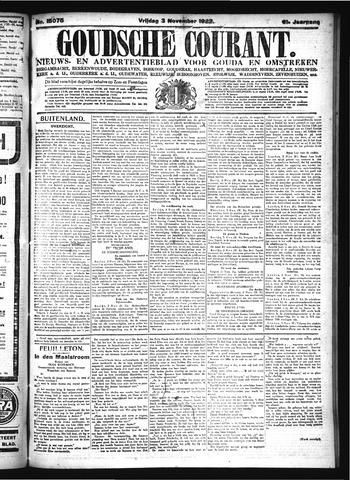 Goudsche Courant 1922-11-03