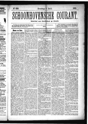 Schoonhovensche Courant 1881-07-03