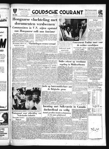 Goudsche Courant 1957-09-11
