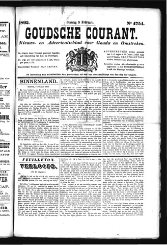 Goudsche Courant 1892-02-09