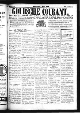 Goudsche Courant 1934-04-04