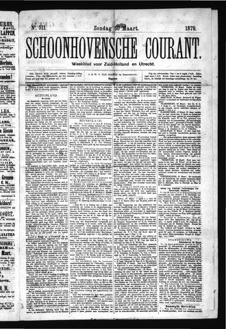 Schoonhovensche Courant 1879-03-30