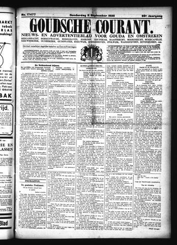 Goudsche Courant 1930-09-11