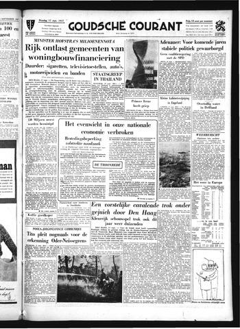 Goudsche Courant 1957-09-17