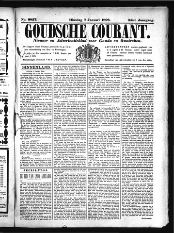 Goudsche Courant 1896-01-07