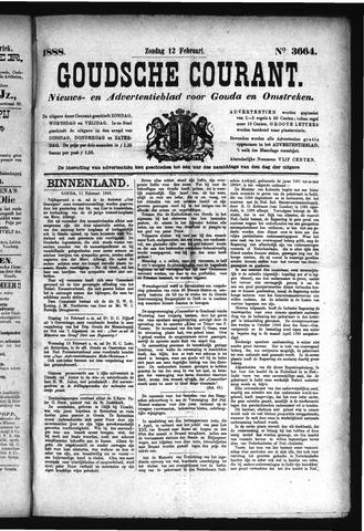 Goudsche Courant 1888-02-12