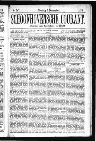 Schoonhovensche Courant 1879-12-07