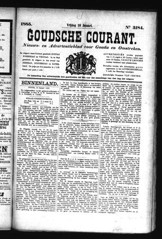 Goudsche Courant 1885-01-16