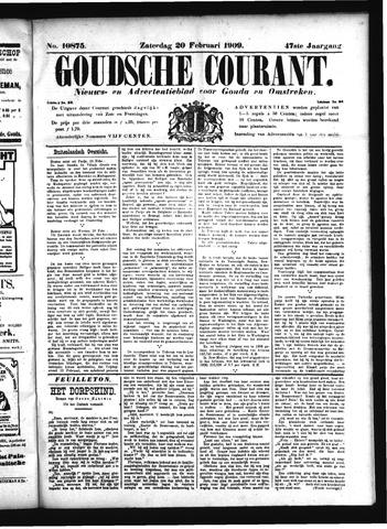 Goudsche Courant 1909-02-20