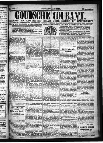 Goudsche Courant 1922-04-25