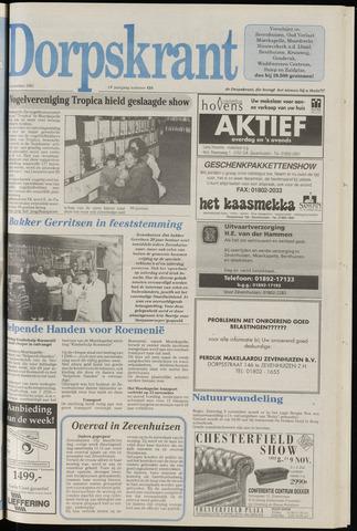 Dorpskrant 1991-11-06