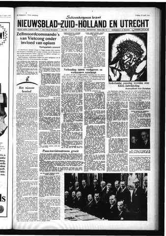 Schoonhovensche Courant 1965-04-16