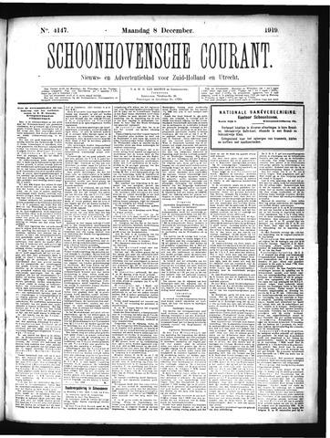 Schoonhovensche Courant 1919-12-08