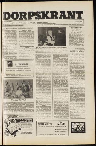 Dorpskrant 1981-11-06