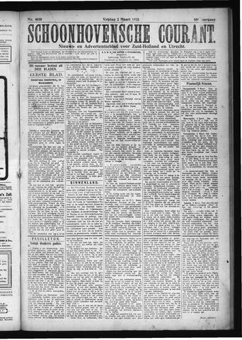 Schoonhovensche Courant 1923-03-02
