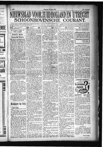 Schoonhovensche Courant 1929-03-25