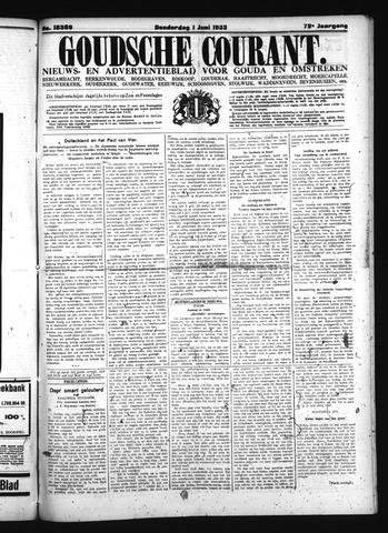 Goudsche Courant 1933-06-01