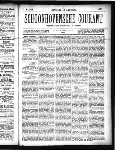 Schoonhovensche Courant 1890-08-16