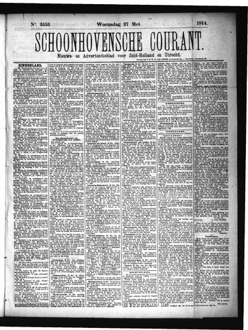 Schoonhovensche Courant 1914-05-27