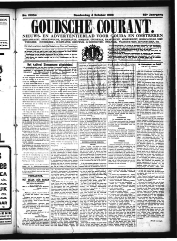 Goudsche Courant 1923-10-04