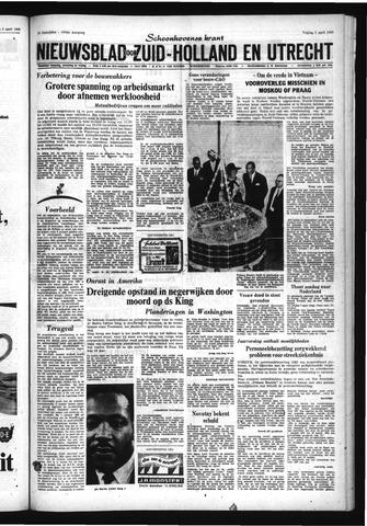 Schoonhovensche Courant 1968-04-05