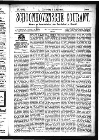 Schoonhovensche Courant 1898-08-06
