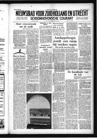 Schoonhovensche Courant 1954-10-06