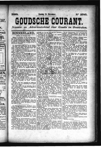 Goudsche Courant 1888-11-25